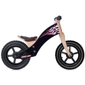 """Rebel Kidz Wood Bicicletas sin pedales 12"""" Niños, flames/black"""